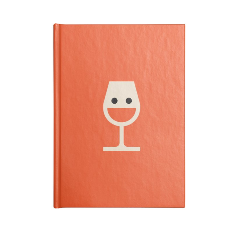 Wine-o, fine-o Accessories Notebook by Andreas Wikström - Threadless artist shop