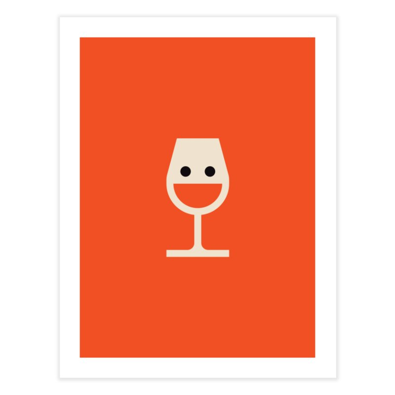 Wine-o, fine-o Home Fine Art Print by Andreas Wikström - Threadless artist shop