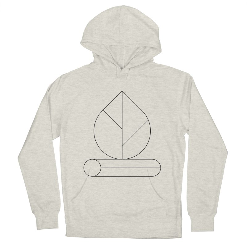 Firewood Women's French Terry Pullover Hoody by Andreas Wikström — Shop