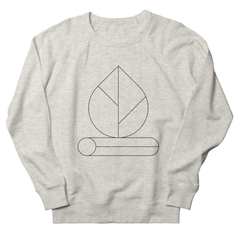 Firewood Women's French Terry Sweatshirt by Andreas Wikström — Shop