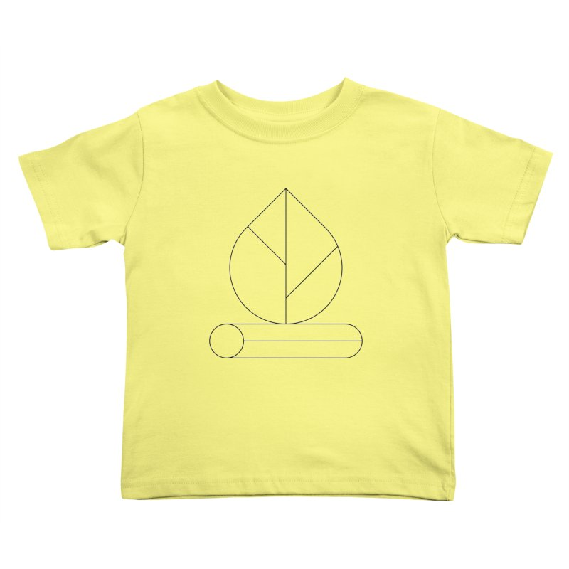 Firewood Kids Toddler T-Shirt by Andreas Wikström — Shop