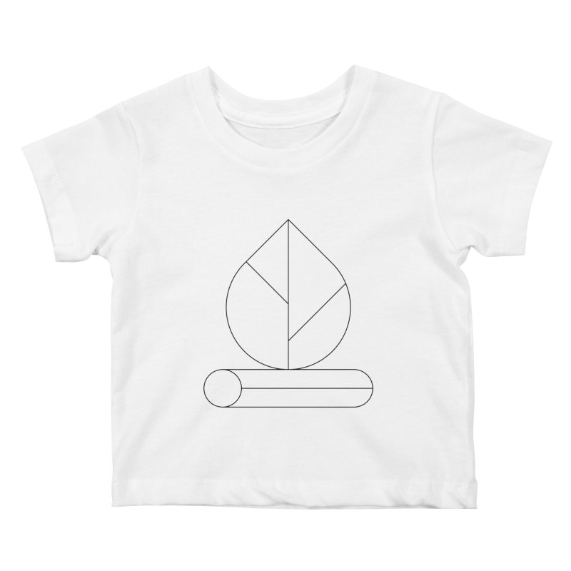 Firewood Kids Baby T-Shirt by Andreas Wikström — Shop