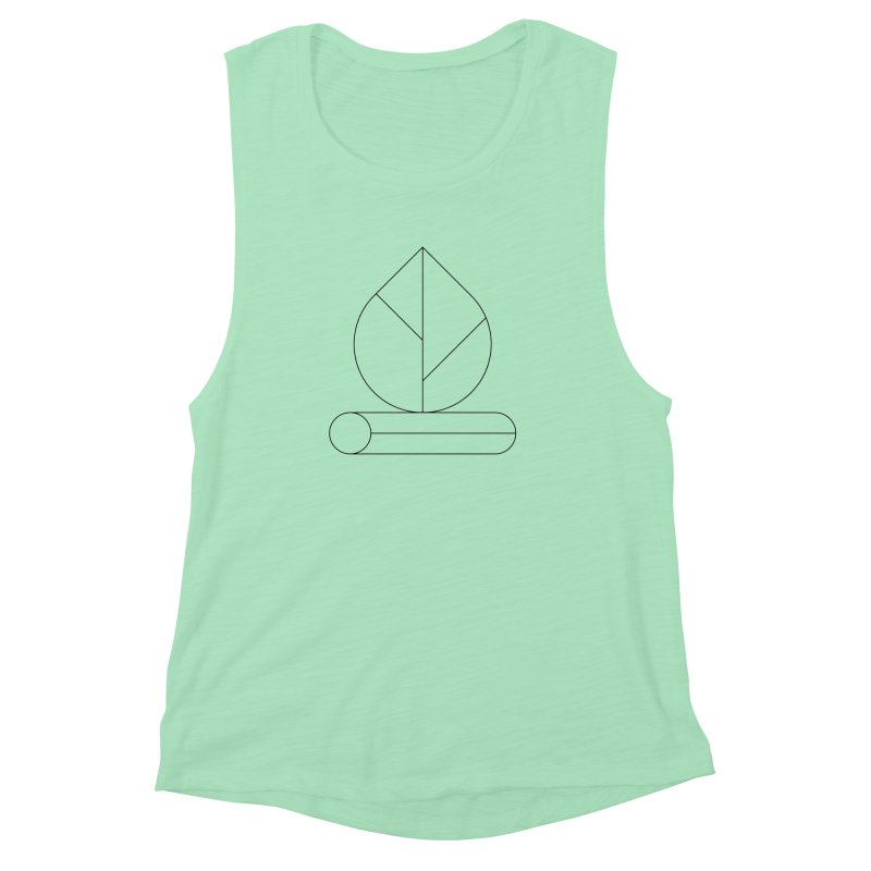 Firewood Women's Muscle Tank by Andreas Wikström — Shop