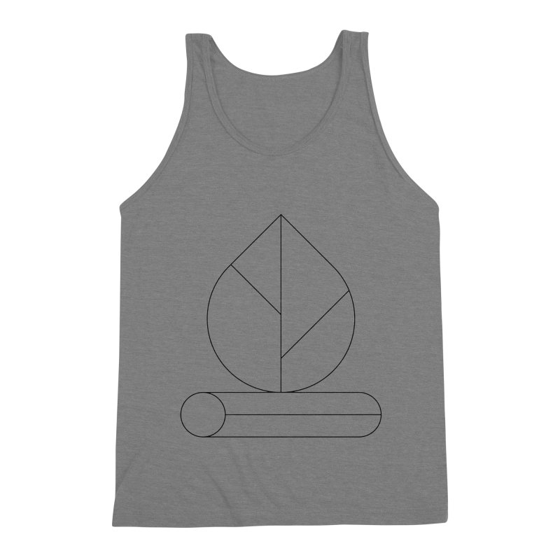 Firewood Men's Triblend Tank by Andreas Wikström — Shop
