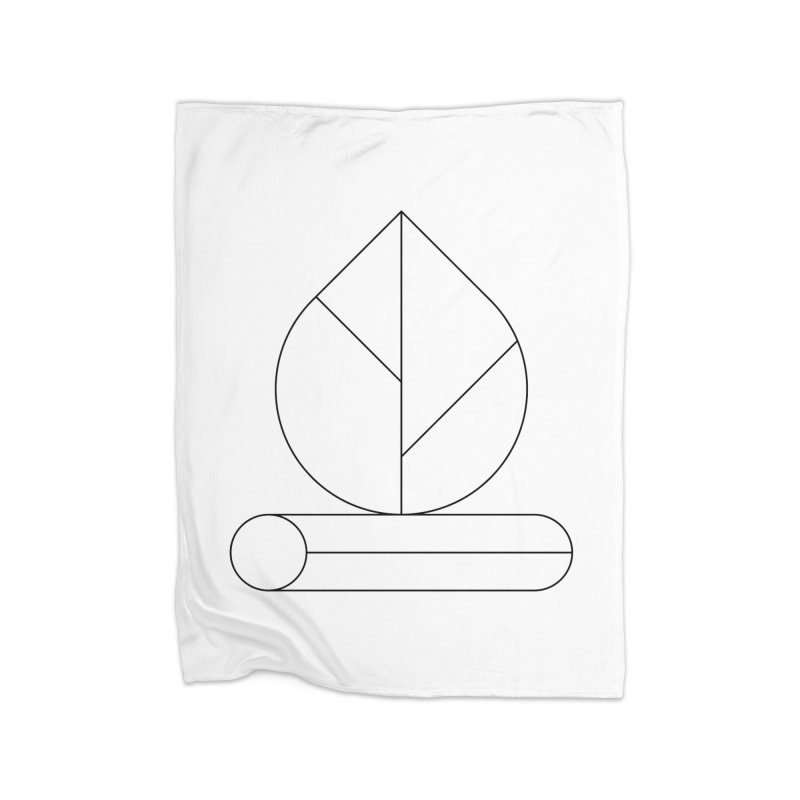 Firewood Home Fleece Blanket Blanket by Andreas Wikström — Shop