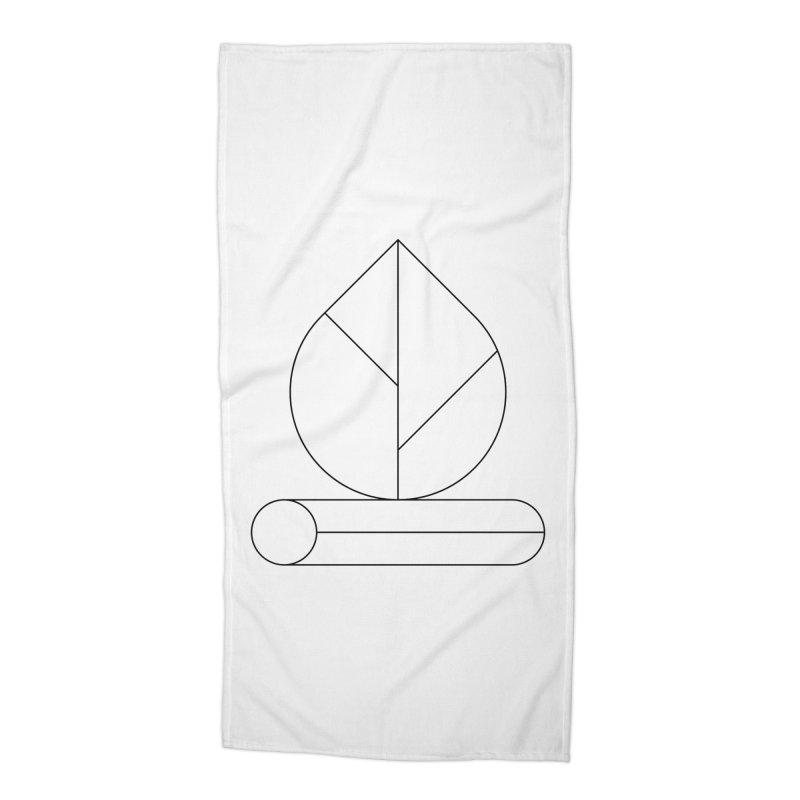 Firewood Accessories Beach Towel by Andreas Wikström — Shop