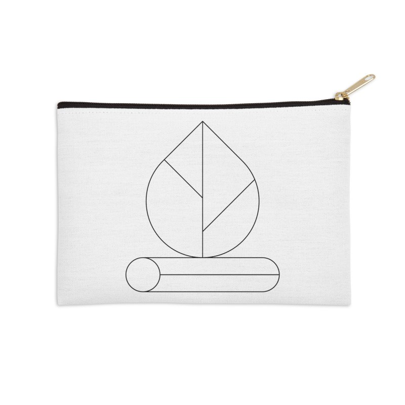 Firewood Accessories Zip Pouch by Andreas Wikström — Shop