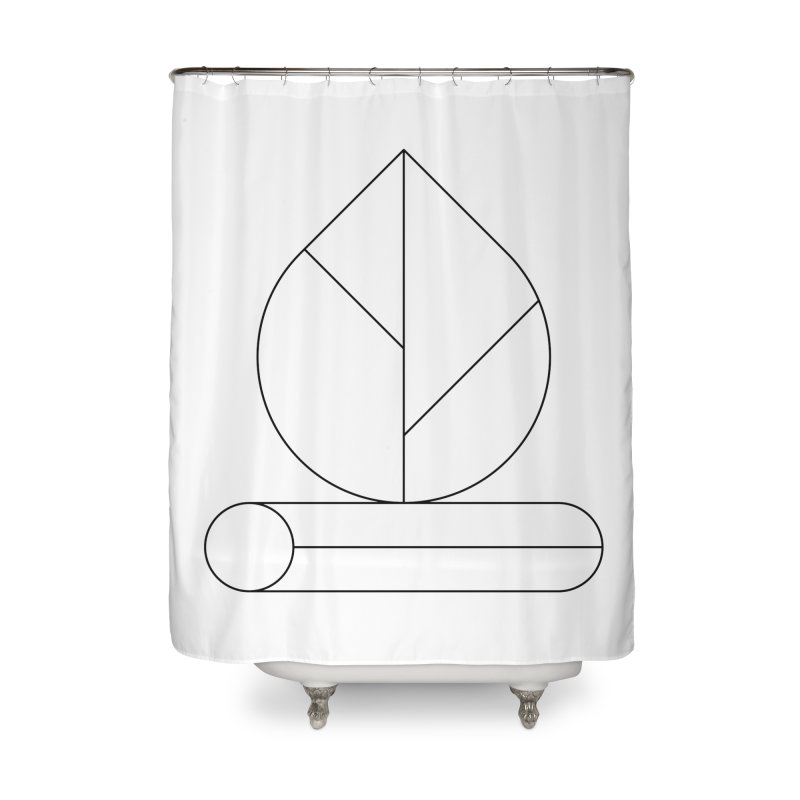 Firewood Home Shower Curtain by Andreas Wikström — Shop
