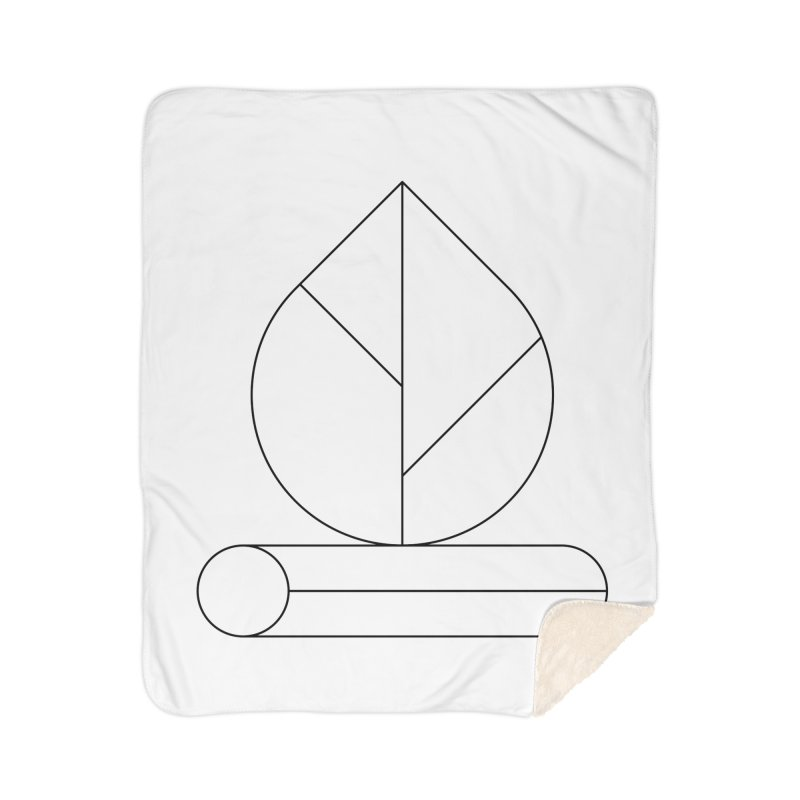 Firewood Home Sherpa Blanket Blanket by Andreas Wikström — Shop
