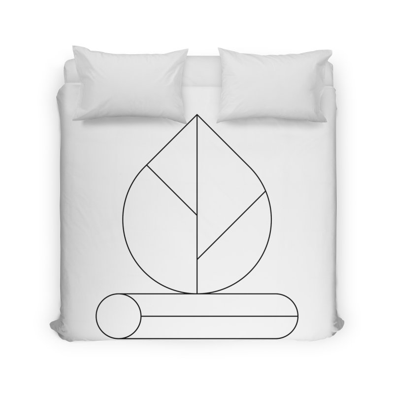 Firewood Home Duvet by Andreas Wikström — Shop