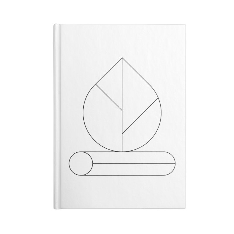 Firewood Accessories Blank Journal Notebook by Andreas Wikström — Shop