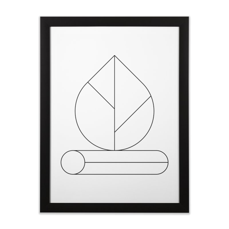 Firewood Home Framed Fine Art Print by Andreas Wikström — Shop