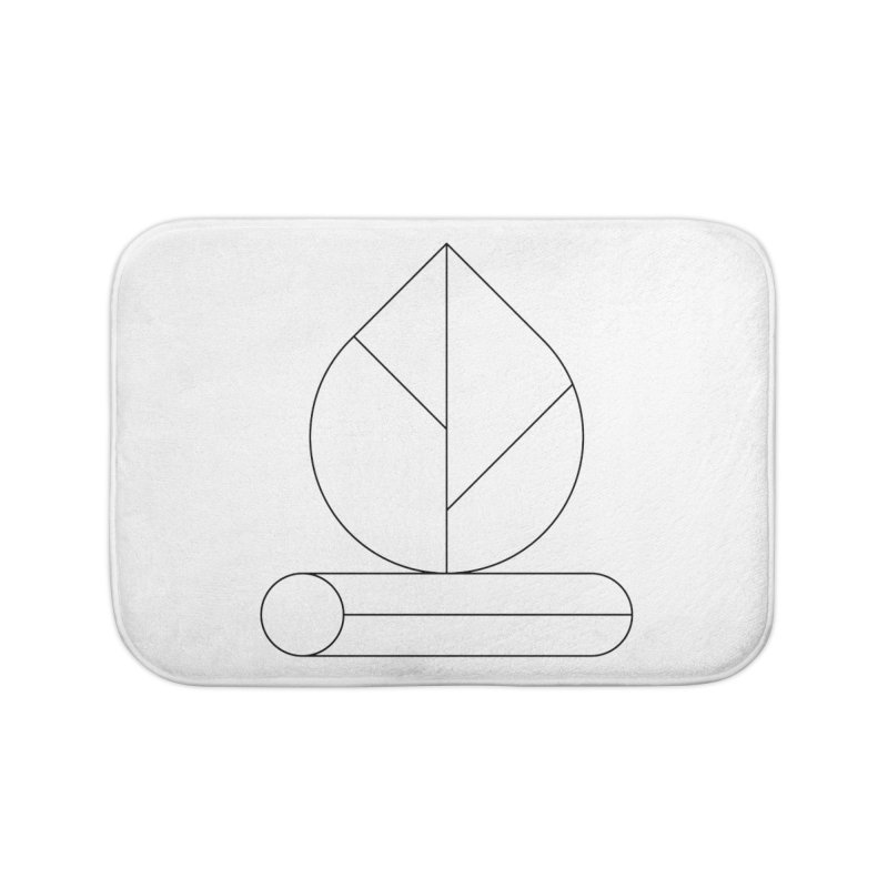 Firewood Home Bath Mat by Andreas Wikström — Shop
