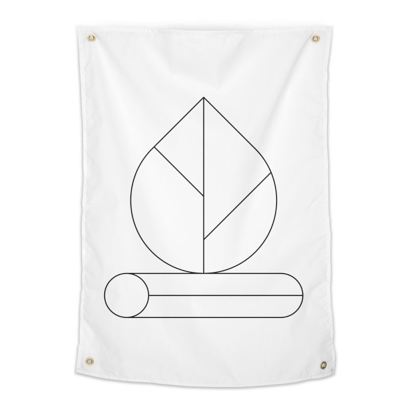Firewood Home Tapestry by Andreas Wikström — Shop