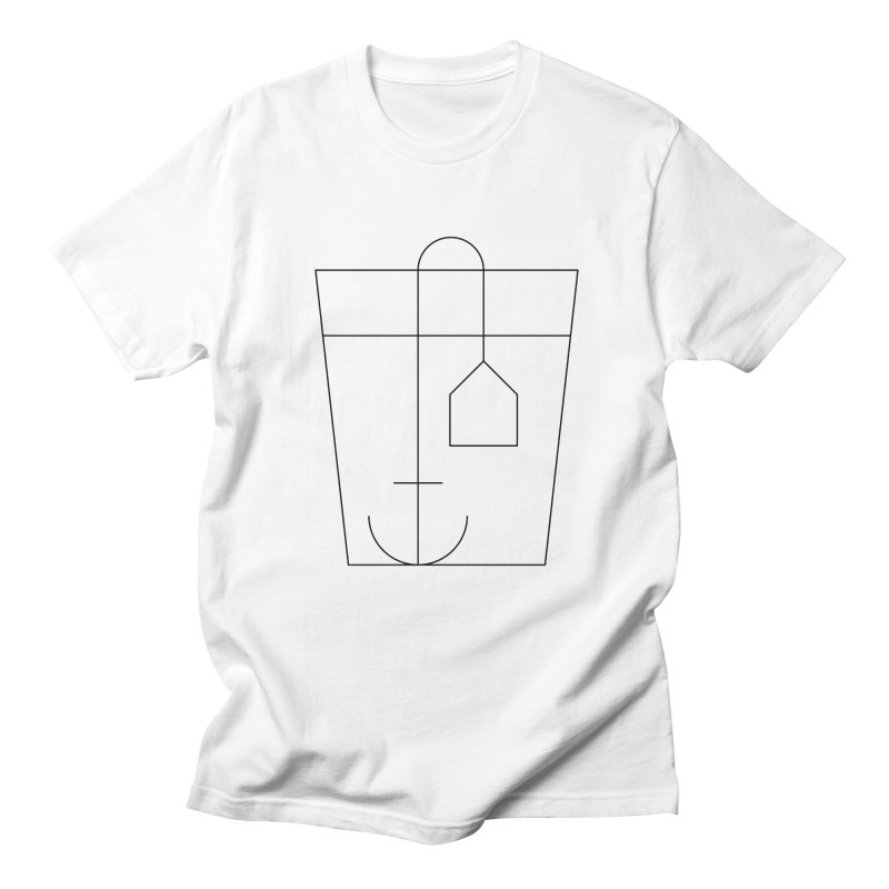 Heavy drinking in Men's T-Shirt White by Andreas Wikström — Shop
