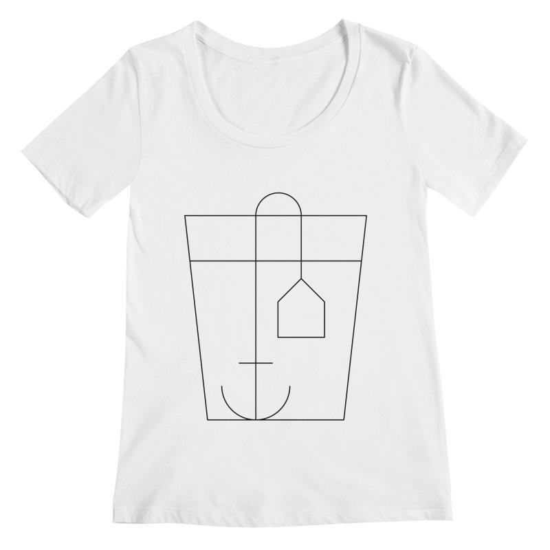 Heavy drinking Women's Regular Scoop Neck by Andreas Wikström — Shop