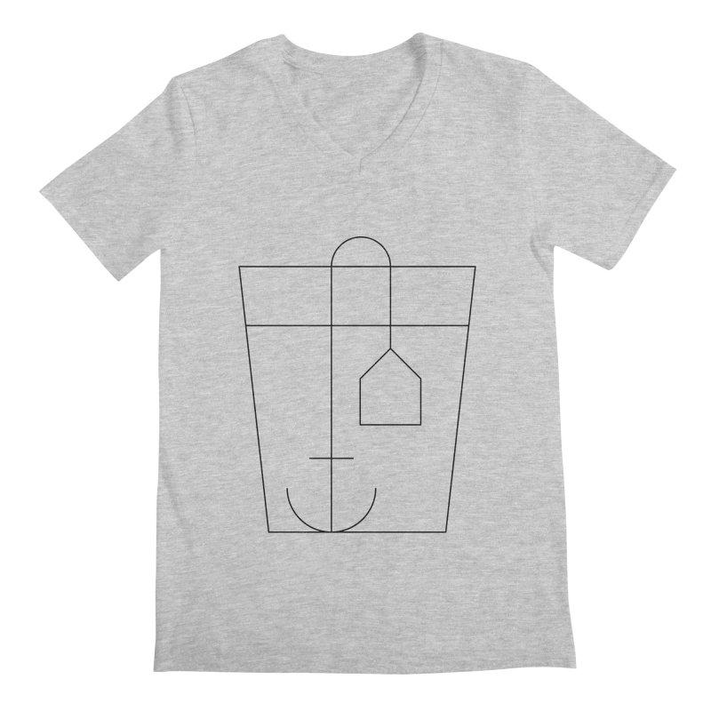 Heavy drinking Men's V-Neck by Andreas Wikström — Shop