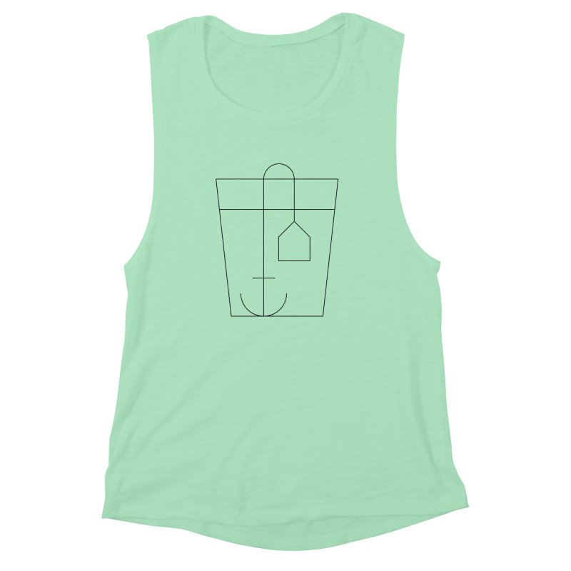 Heavy drinking Women's Muscle Tank by Andreas Wikström — Shop