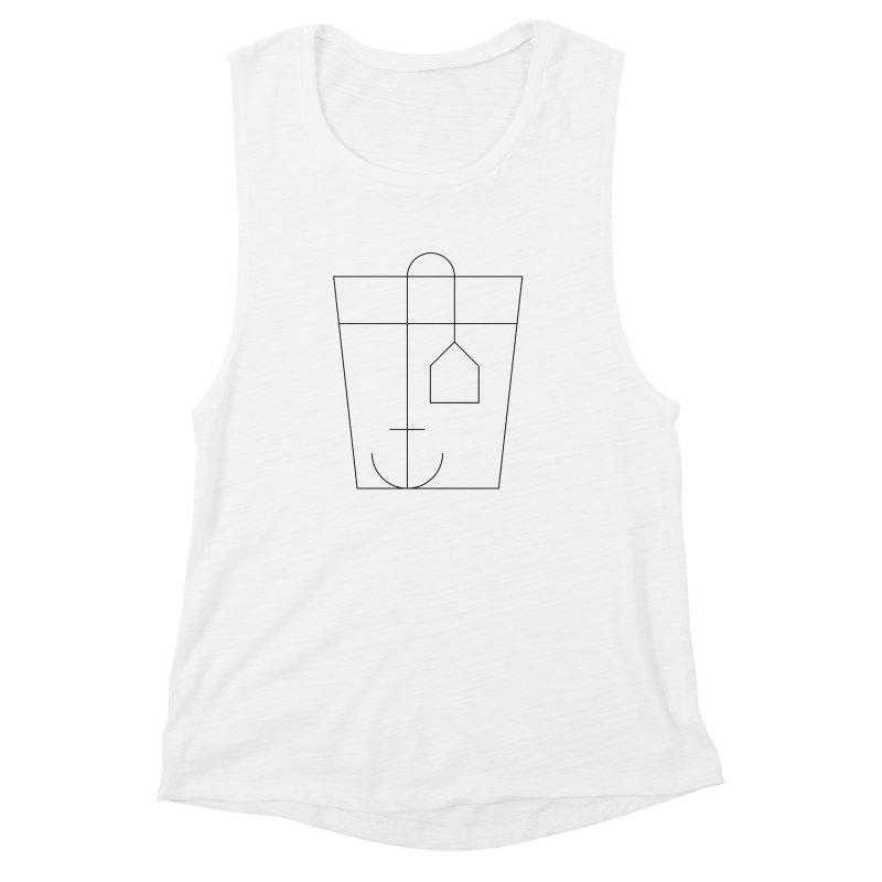 Heavy drinking Women's Muscle Tank by Andreas Wikström — Shop