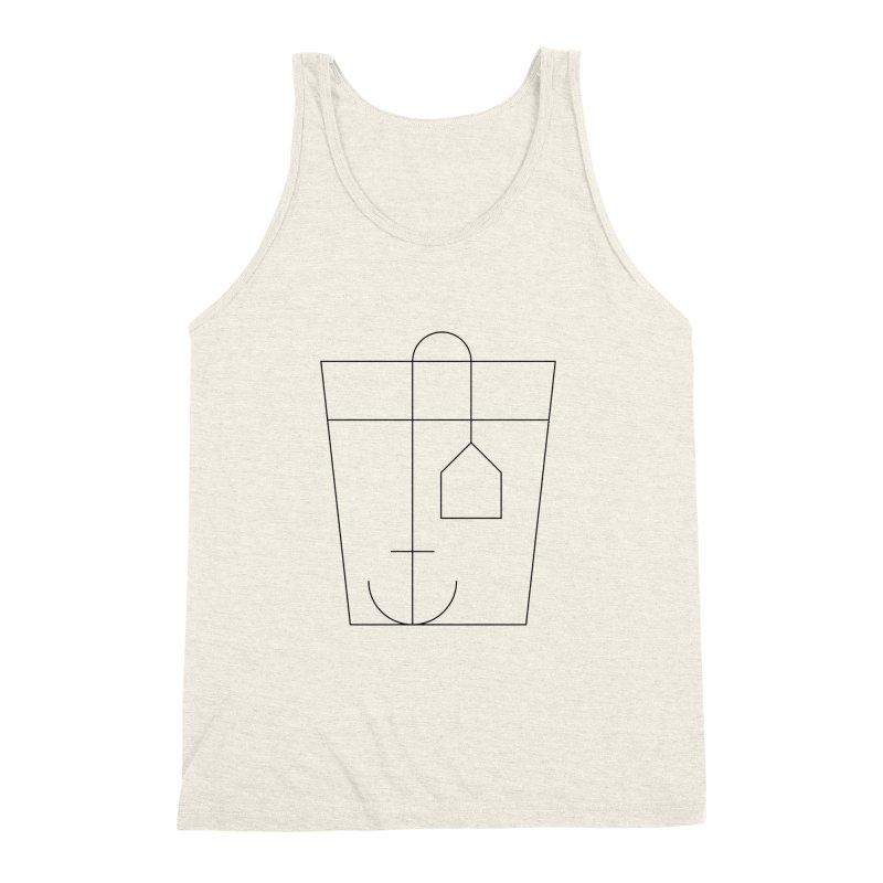 Heavy drinking Men's Triblend Tank by Andreas Wikström — Shop