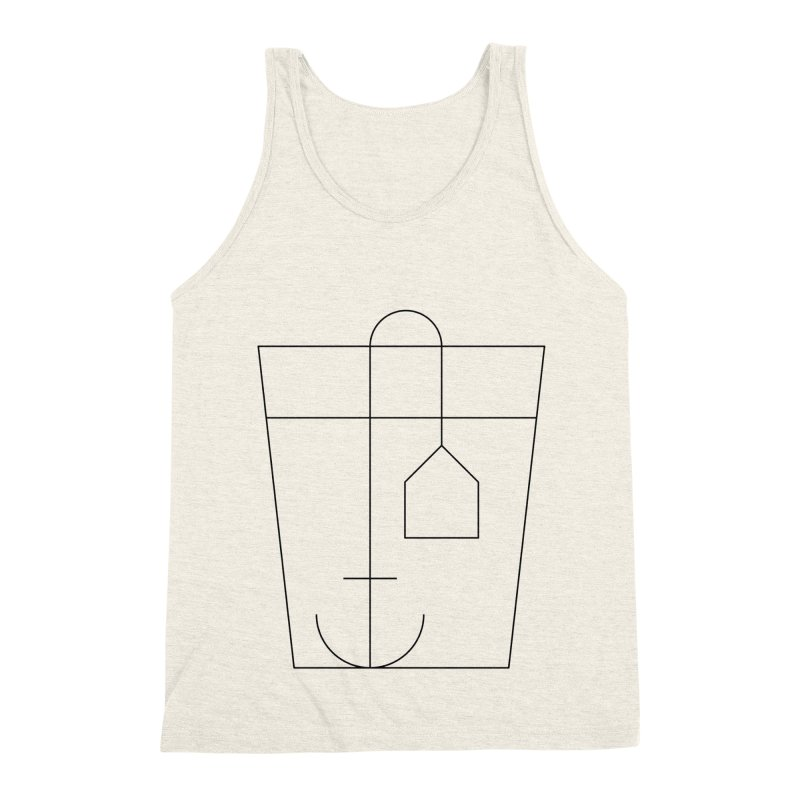 Heavy drinking Men's Triblend Tank by Andreas Wikström — Shop