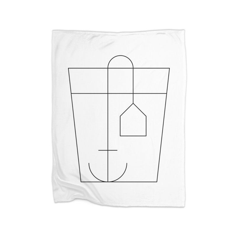 Heavy drinking Home Fleece Blanket Blanket by Andreas Wikström — Shop