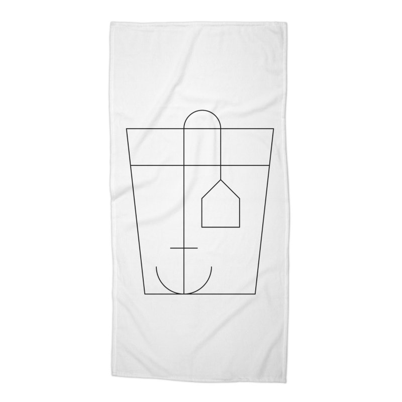 Heavy drinking Accessories Beach Towel by Andreas Wikström — Shop