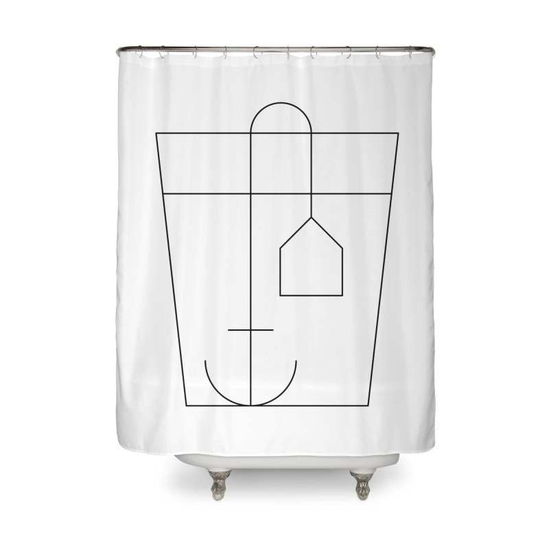 Heavy drinking Home Shower Curtain by Andreas Wikström — Shop