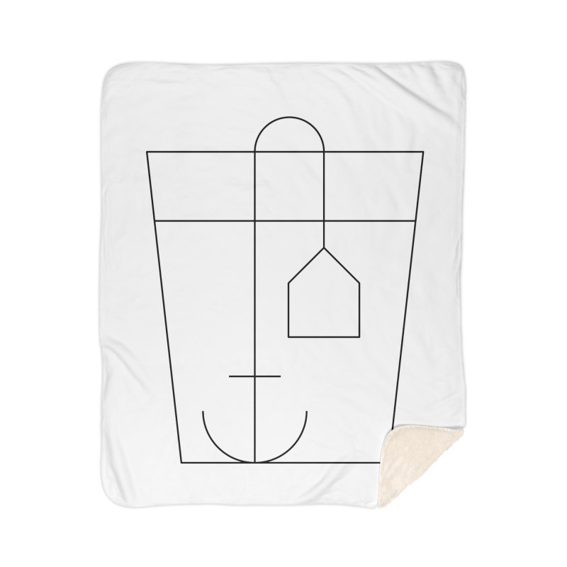 Heavy drinking Home Sherpa Blanket Blanket by Andreas Wikström — Shop