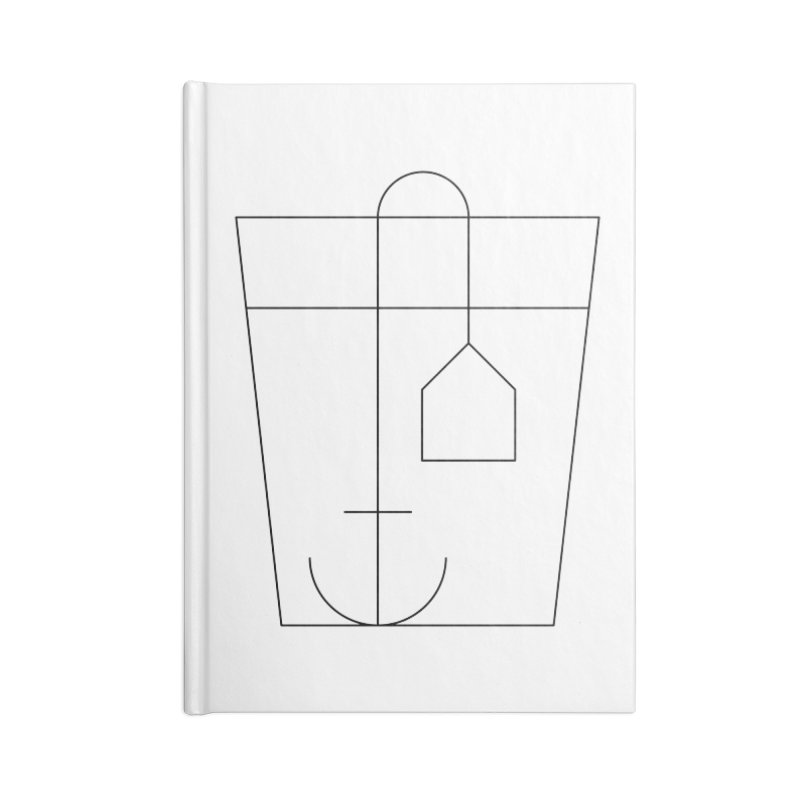 Heavy drinking Accessories Blank Journal Notebook by Andreas Wikström — Shop