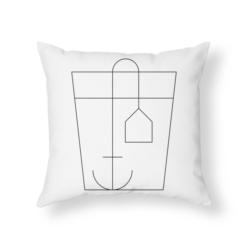 Heavy drinking Home Throw Pillow by Andreas Wikström — Shop