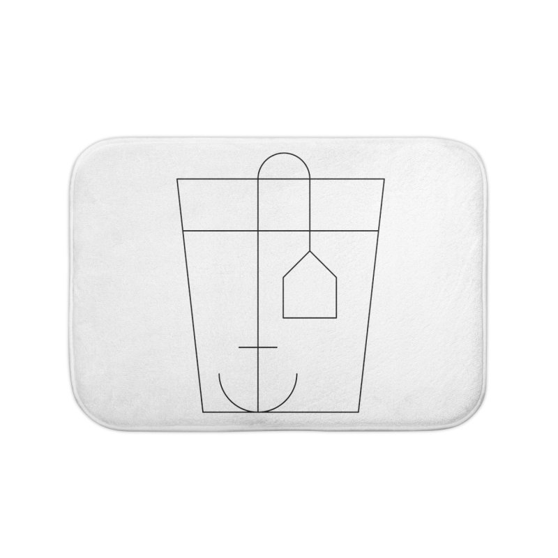 Heavy drinking Home Bath Mat by Andreas Wikström — Shop