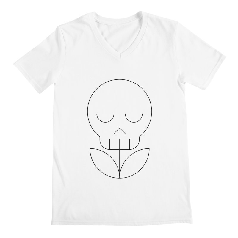 Death from a rose Men's V-Neck by Andreas Wikström — Shop