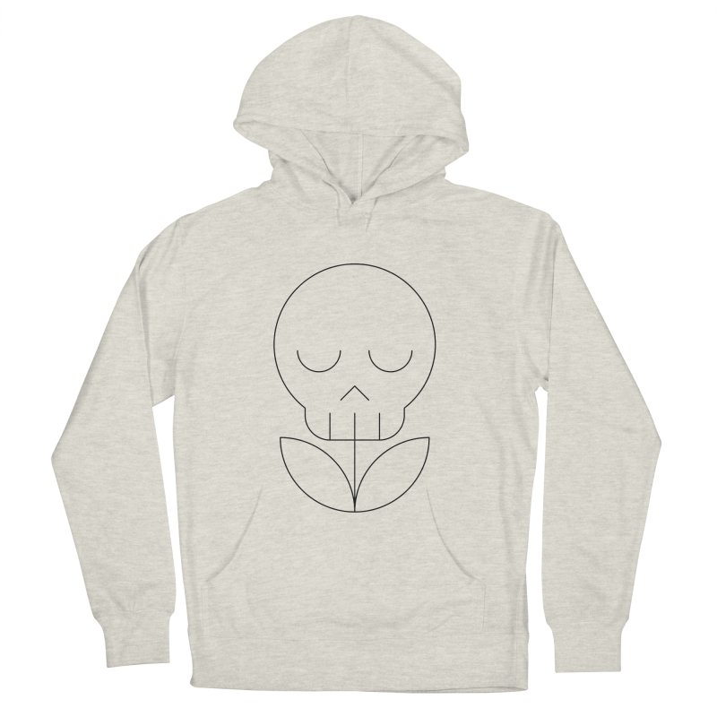 Death from a rose Women's French Terry Pullover Hoody by Andreas Wikström — Shop
