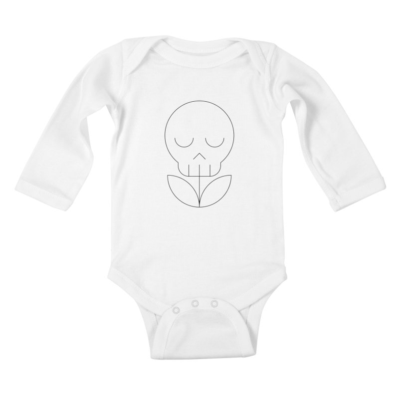 Death from a rose Kids Baby Longsleeve Bodysuit by Andreas Wikström — Shop