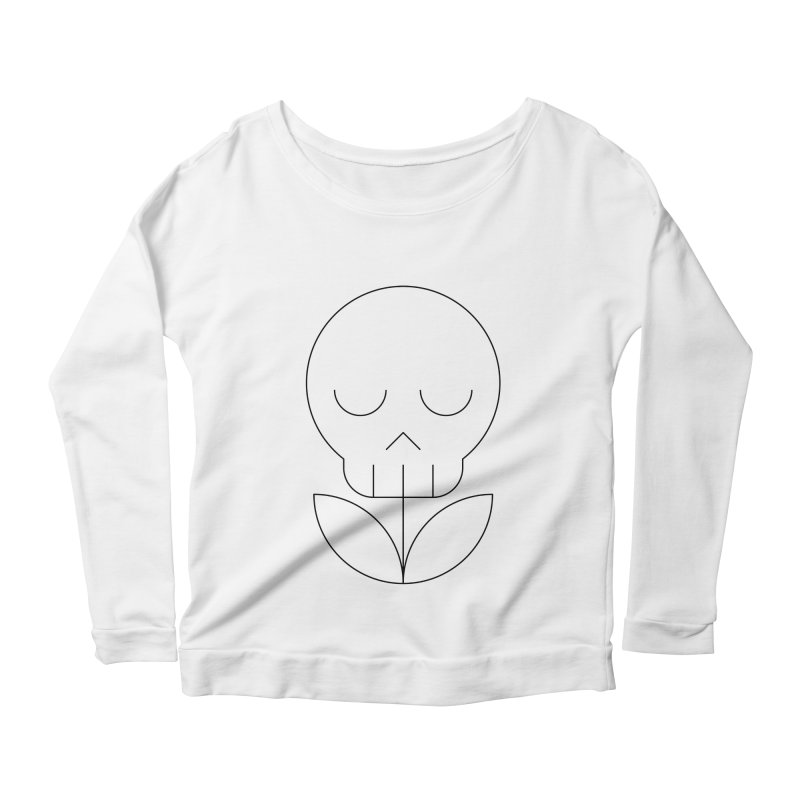 Death from a rose Women's Scoop Neck Longsleeve T-Shirt by Andreas Wikström — Shop