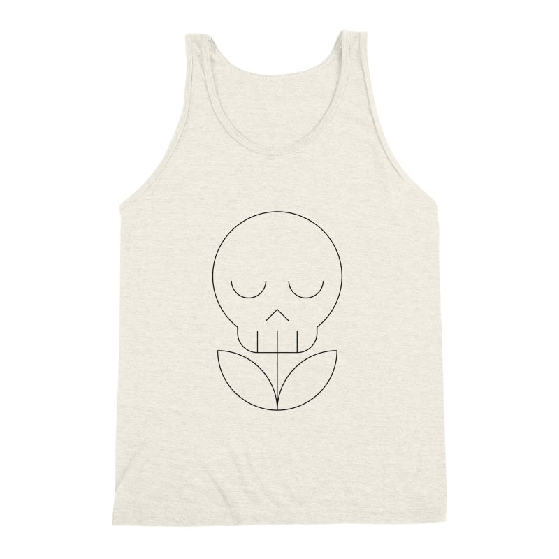 Death from a rose Men's Triblend Tank by Andreas Wikström — Shop