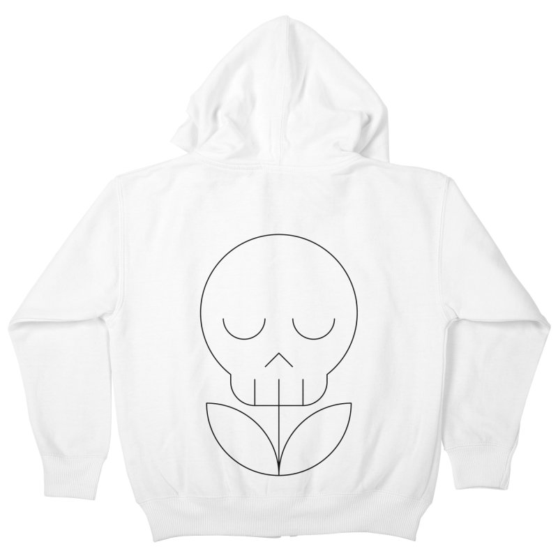 Death from a rose Kids Zip-Up Hoody by Andreas Wikström — Shop
