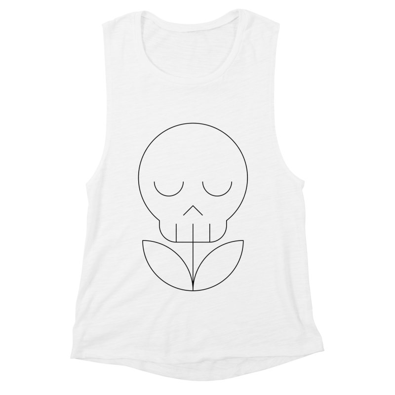 Death from a rose Women's Muscle Tank by Andreas Wikström — Shop