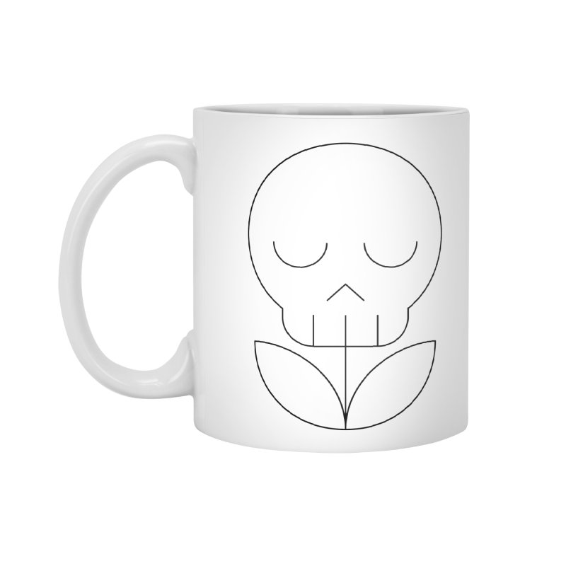 Death from a rose Accessories Standard Mug by Andreas Wikström — Shop