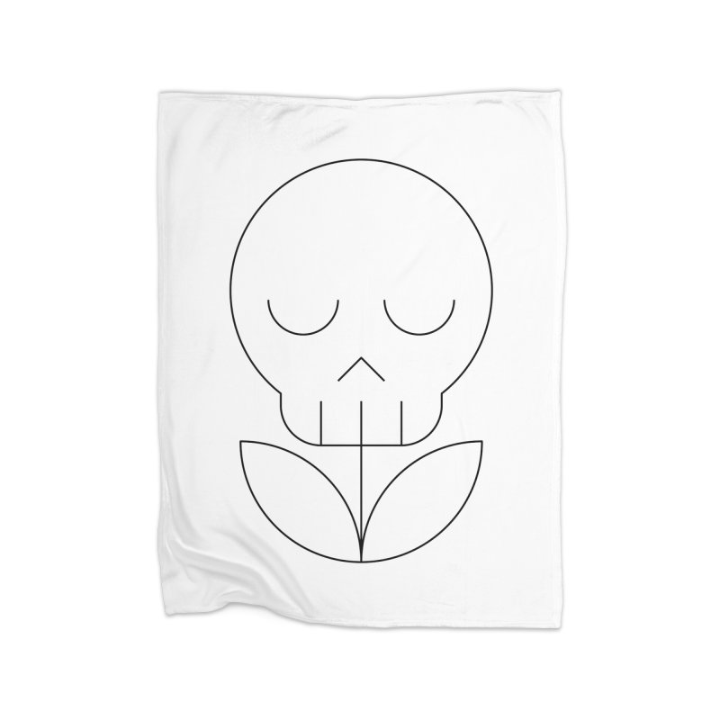 Death from a rose Home Fleece Blanket Blanket by Andreas Wikström — Shop