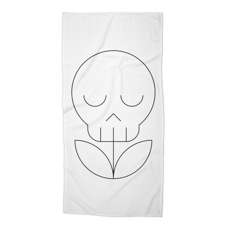 Death from a rose Accessories Beach Towel by Andreas Wikström — Shop