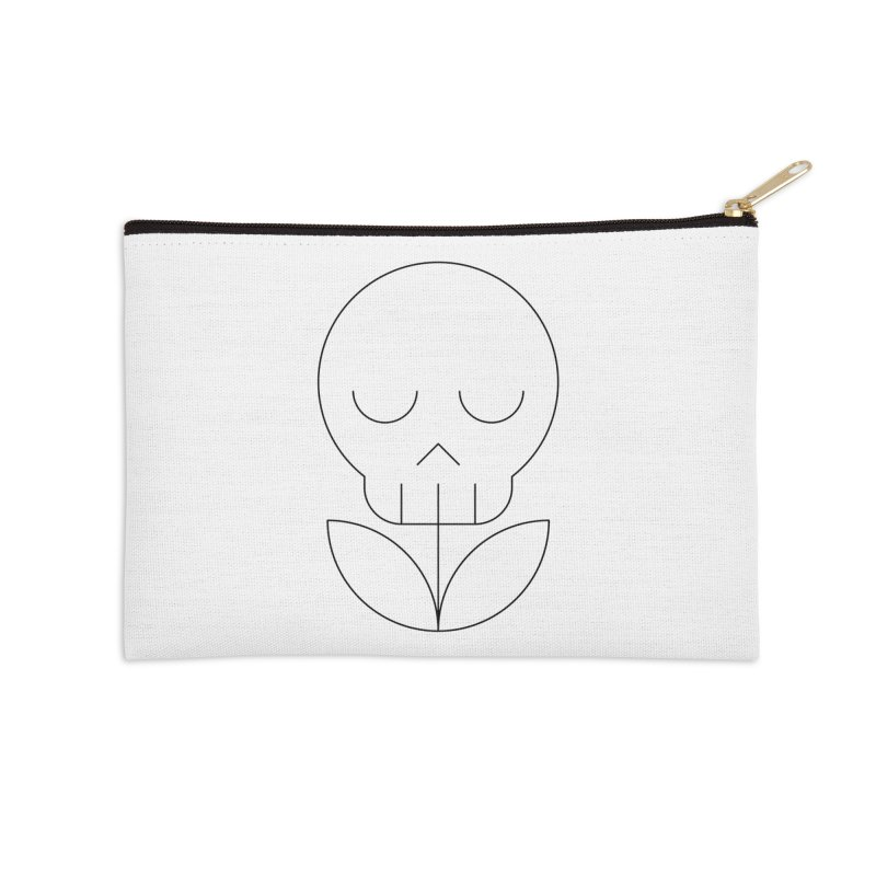 Death from a rose Accessories Zip Pouch by Andreas Wikström — Shop