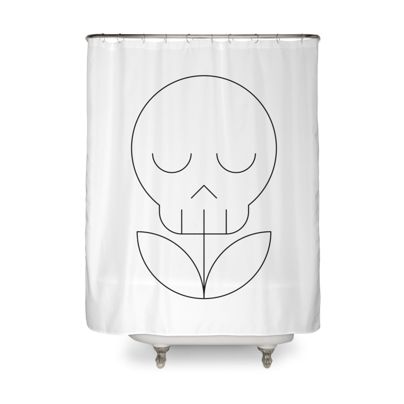 Death from a rose Home Shower Curtain by Andreas Wikström — Shop
