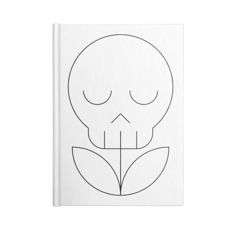 Death from a rose Accessories Lined Journal Notebook by Andreas Wikström — Shop
