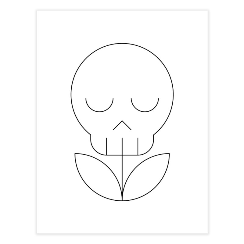 Death from a rose Home Fine Art Print by Andreas Wikström — Shop
