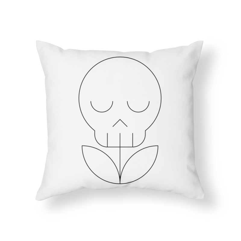 Death from a rose Home Throw Pillow by Andreas Wikström — Shop