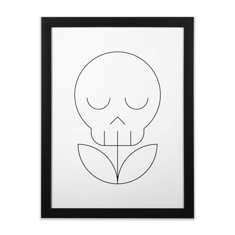 Death from a rose Home Framed Fine Art Print by Andreas Wikström — Shop