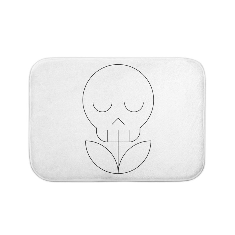 Death from a rose Home Bath Mat by Andreas Wikström — Shop