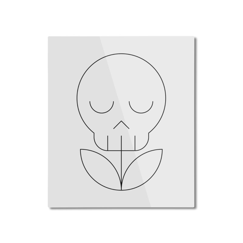 Death from a rose Home Mounted Aluminum Print by Andreas Wikström — Shop